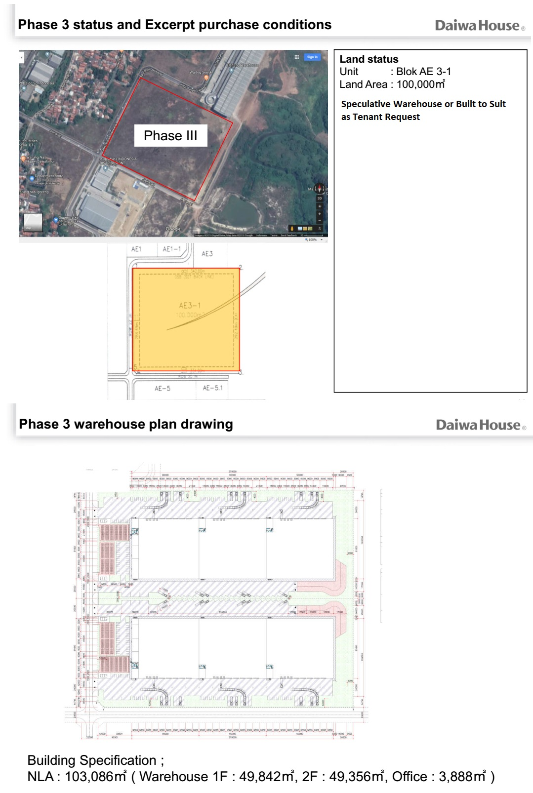 DMLP TAHAP 3 PLAN & DRAWING SITEPLAN
